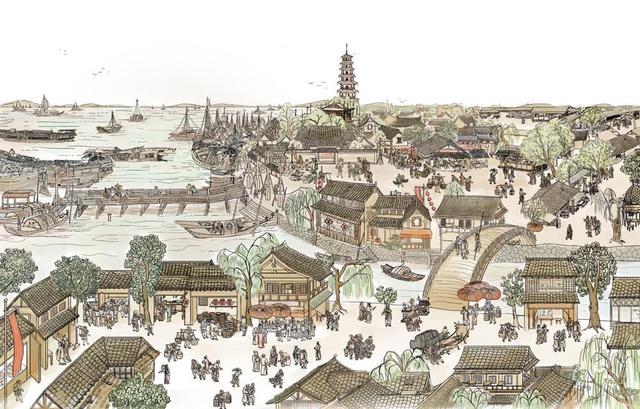 解放日报·上观新闻根据上海博物馆最新考古发现,相关史籍,并参照唐宋