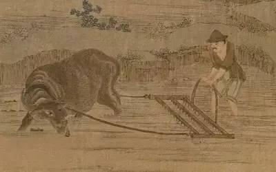 古代农耕图