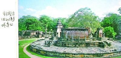 斯里兰卡是如何整修古塔的