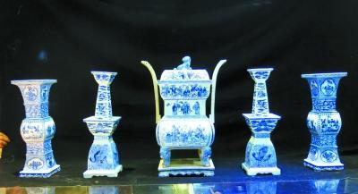 一把泥土创造了一个灿烂的文明,青花瓷乃外交瓷?