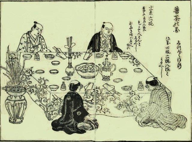 卓袱料理和普茶料理