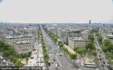 巴黎上空俯瞰城市图景