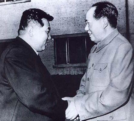 朝鲜战争毛泽东会见金日成