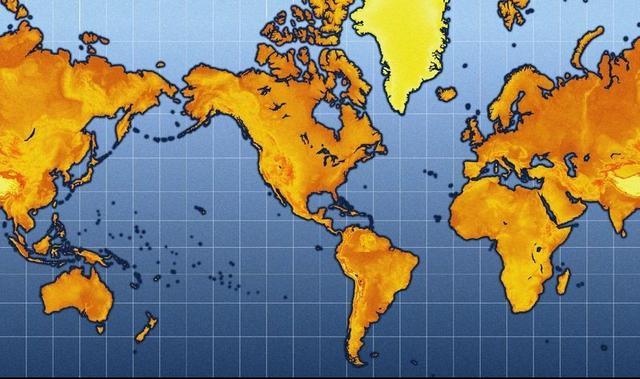为何每一张世界地图都存在失真