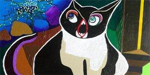 异类的呐喊――马莉硅谷油画作品展