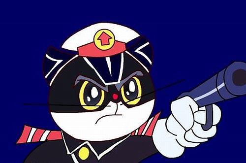 大黑猫卡通图片