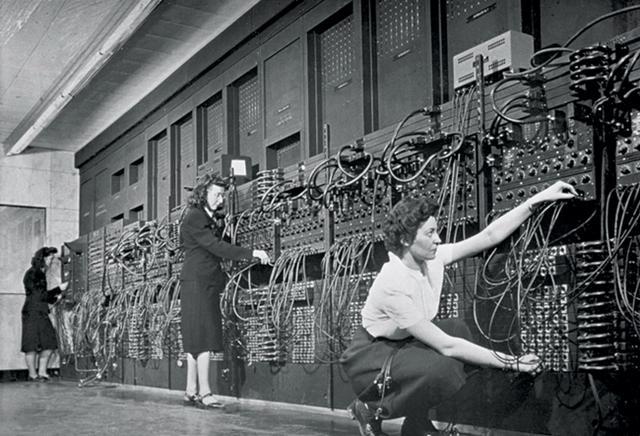 世界第一台通用计算机和六位不该被遗忘的女程序员_文化_腾讯网