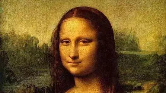 达芬奇《蒙娜丽莎》有完美黄金分割线。
