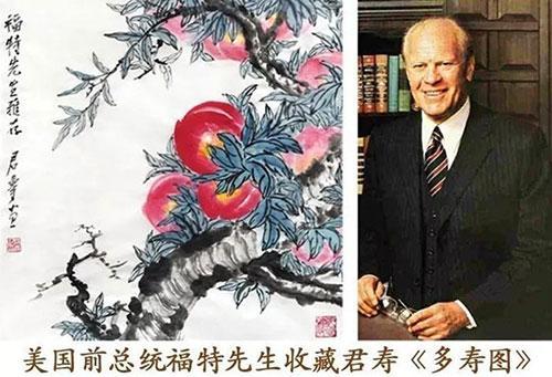 君寿先生的寿桃艺术