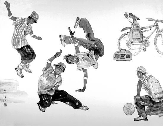 画家张弘:绘画不能只是临摹传统 画家要表现时代精神