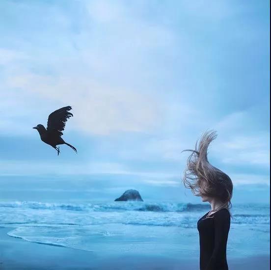 我的歌在风的耳廓里,听见了远方 | 马莉硅谷画展