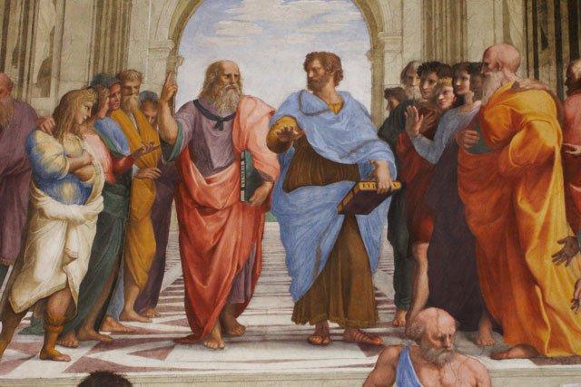 柏拉图和亚里士多德