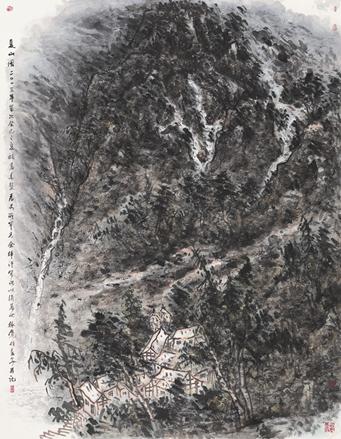 苍山无言--崔振宽画展发布会5月21日在京举办