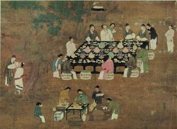 宋朝饭局:女主人坐在哪儿