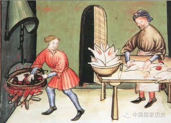 没有番茄的亚平宁:中世纪意大利餐桌是样?荣威350后面没有英文图片