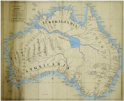 澳大利亚主要河流地图_澳大利亚河流地图 553x237 - 86kb - png图片