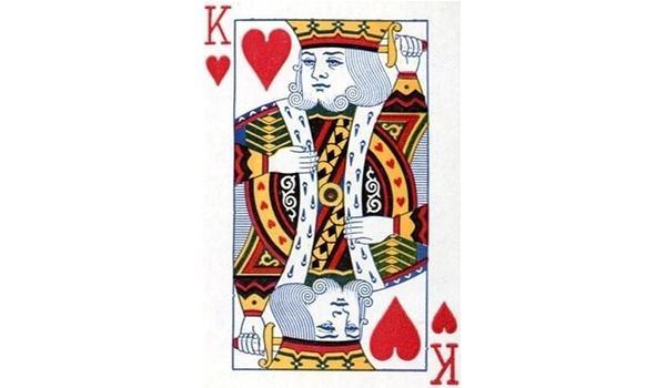 扑克牌红桃K的原型人物是谁?