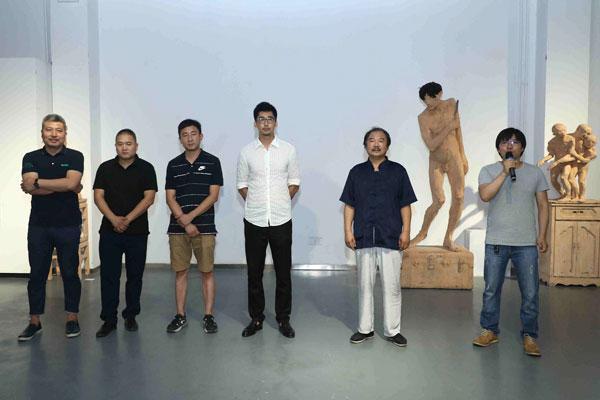 """""""艺+""""——王振林、林惠兴、方旭雕塑展在798国际艺术交流中心开幕"""