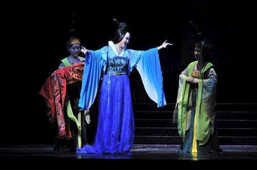国家大剧院原创歌剧《西施》:战国红颜传奇