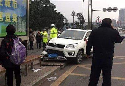 新闻图:车祸现场