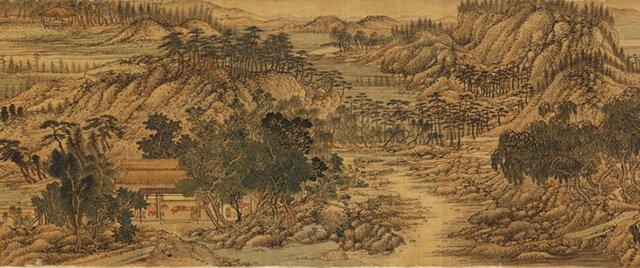 唐人詩集可以藏一套劍法,也可以藏一座園林