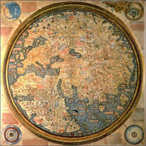 1459年的世界地图