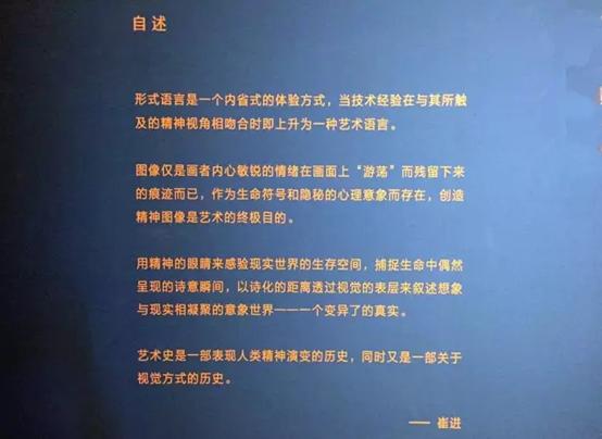 """""""眩臆——崔进作品展""""在中国美术馆开幕"""