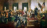 美国宪法还为美国接纳新州并团结一致提供了可能。