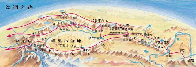 古丝绸之路:人类历史的地理宿命