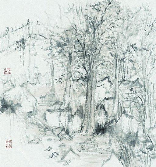 北京民俗文化手绘