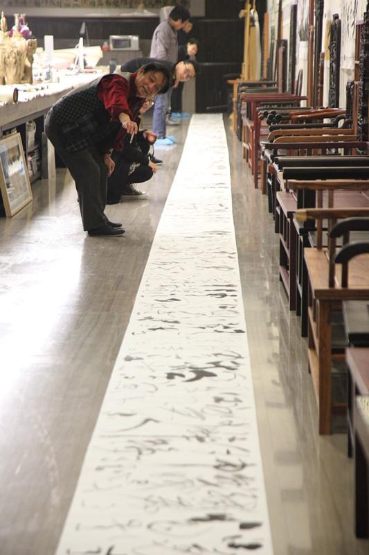 韩美林:这33米长的春江花月夜