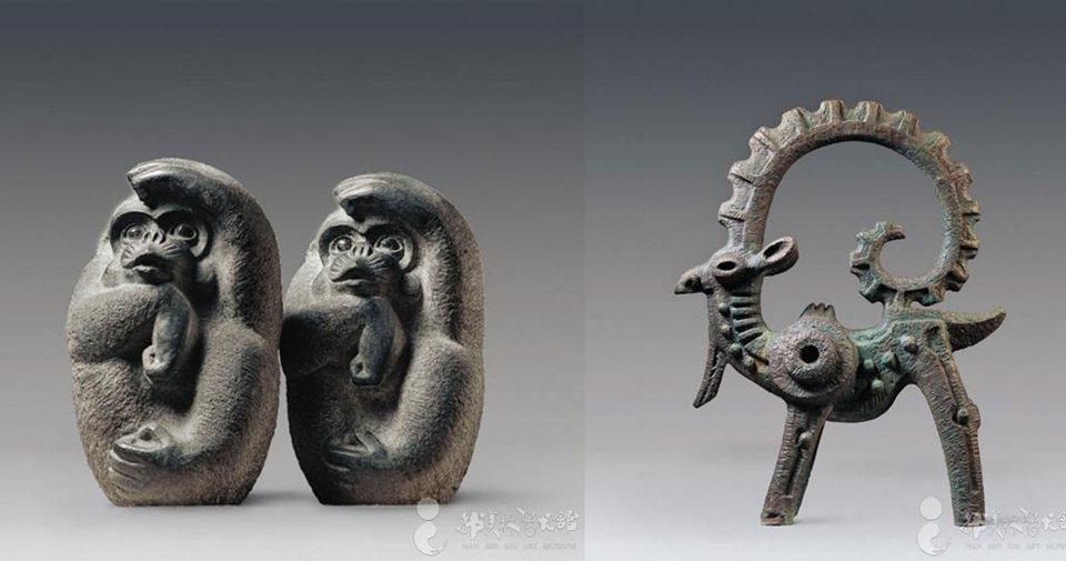 韩美林雕塑艺术作品