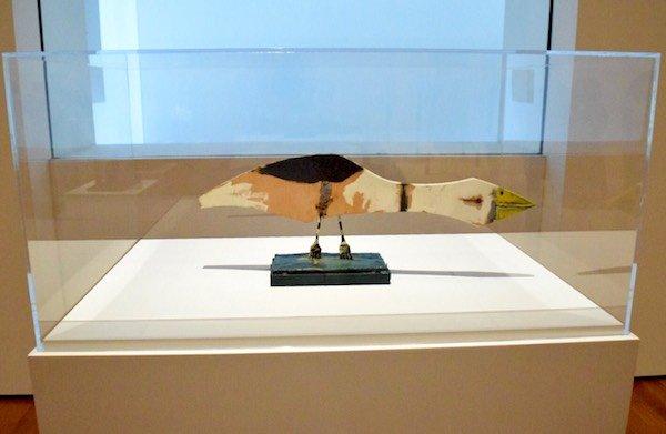毕加索作品:《鸟》