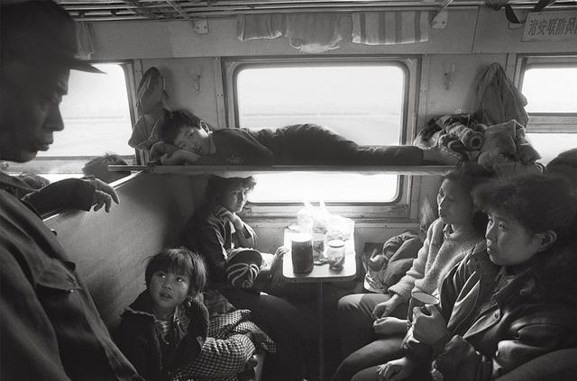火车上的中国人:车厢内外的人生百态