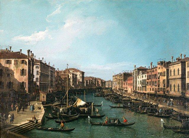 卡拉莱托的威尼斯风景画