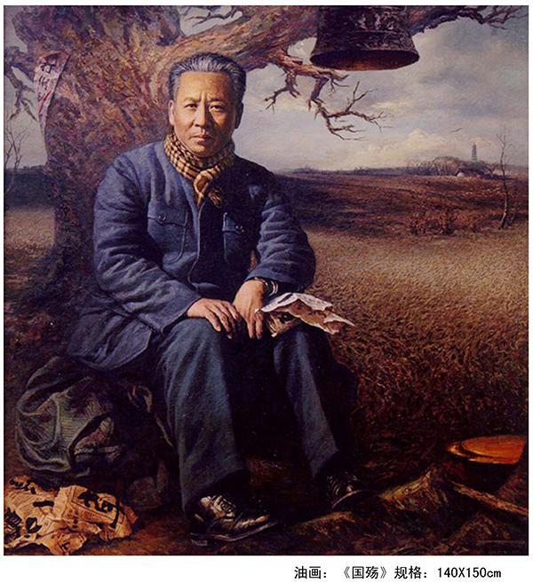 赵一凡:王建顺的家国油画