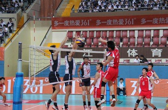 361 全国男排大奖赛 上海零封八一夺冠