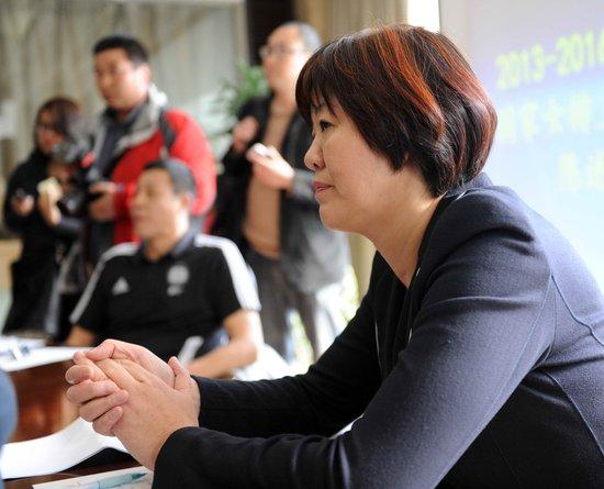 新奥运周期中国女排主教练竞聘陈述会举行