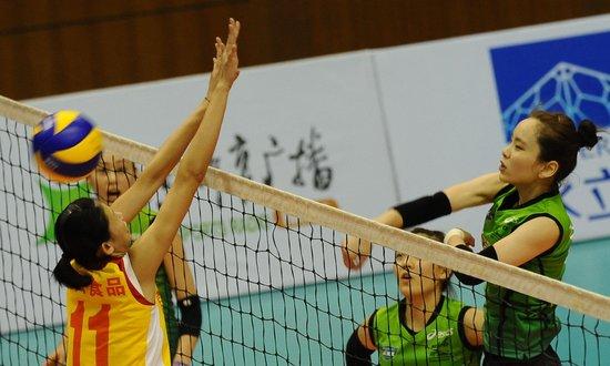 转 北京国际排球对抗赛韩国GS女排3 1逆转福建 排球谏言堂