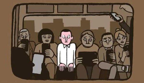 日本人眼中的「智能手機廢人」