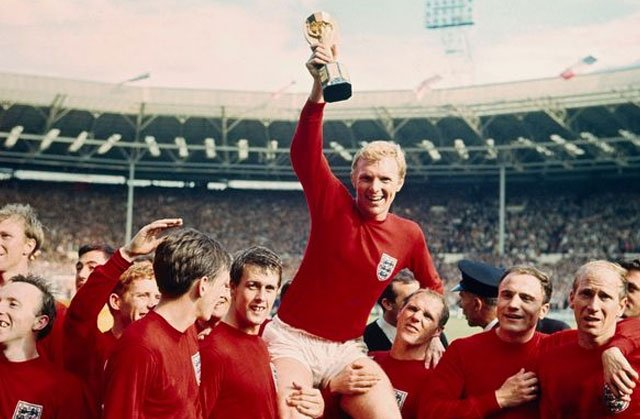 England team won the World Cup in 1966