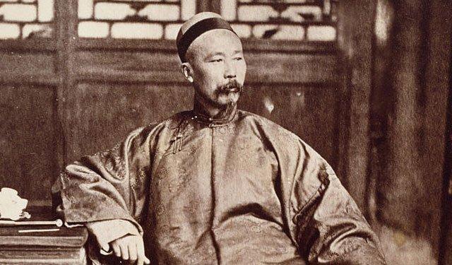 李鸿章像,摄于1871年
