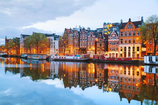 阿姆斯特丹,毒品與同性婚姻合法的宜居之城