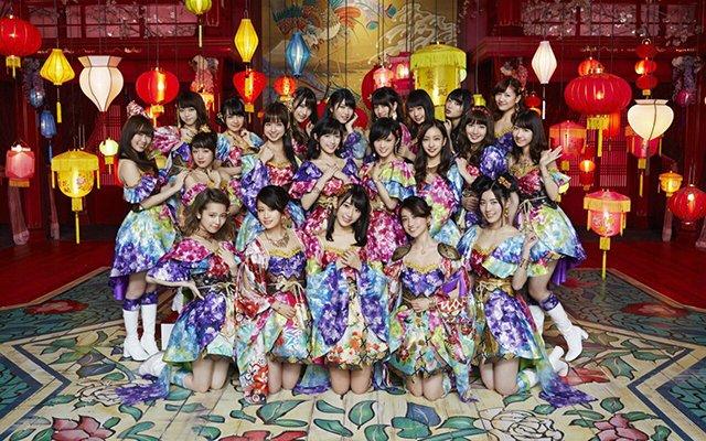 资料图:AKB48组合