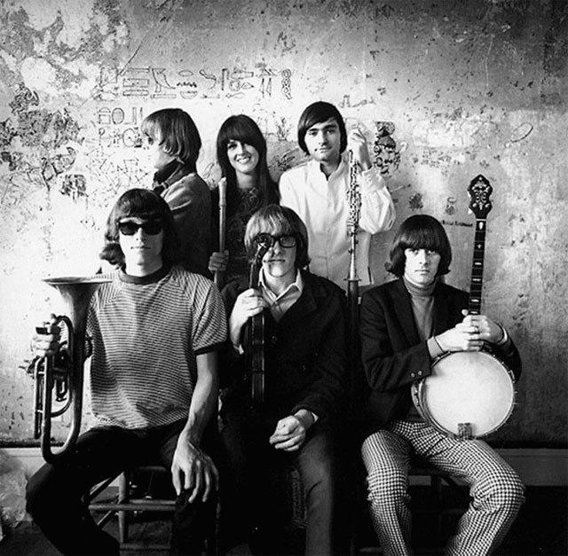 """1966年的""""杰斐逊飞机""""(Jefferson Airplane)乐队"""