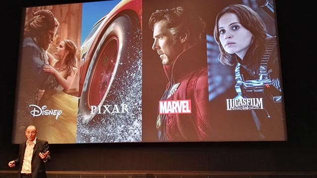 迪士尼旗下的四大电影品牌
