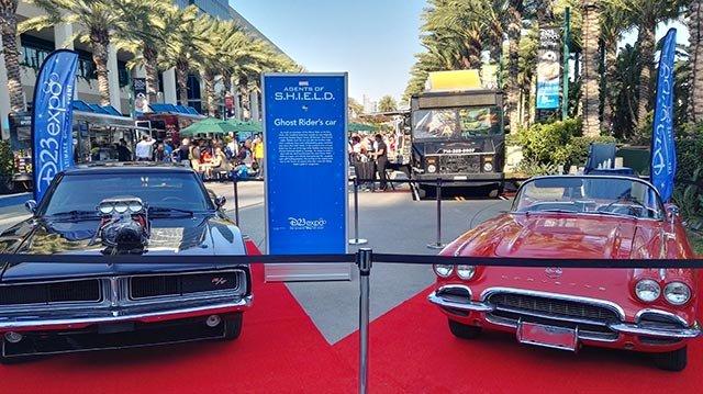 漫威的道具汽车吸引着不同的粉丝群,是传统迪士尼的补充