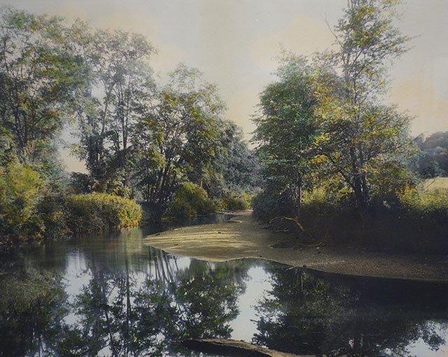 图9、努廷的上色风景照。图片来自互联网