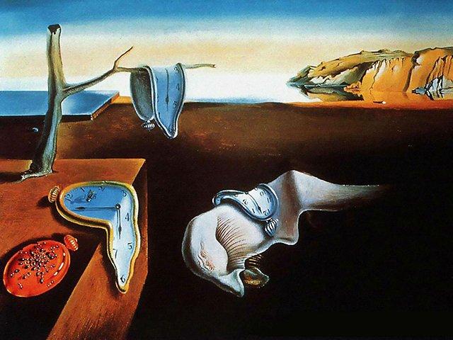 记忆的持续性-被女神加拉拯救的画家达利图片