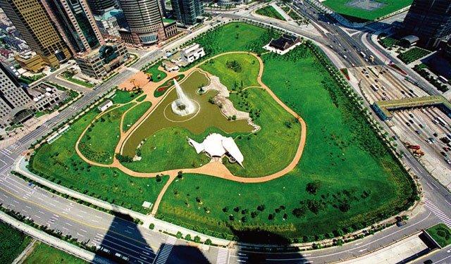 上海陸家嘴中心綠地